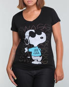 Plus Size - Joe Cool Snoopy Swag Tee