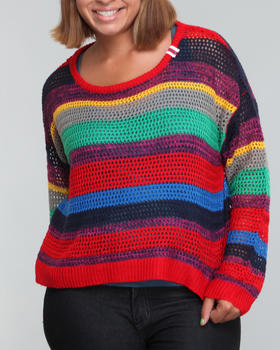 Southpole - Stripe sweater (plus)