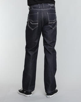 MO7 - Two tone stitch denim jeans