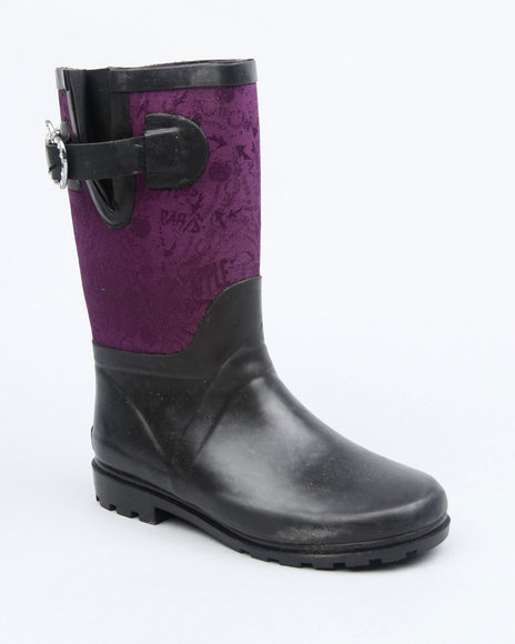 apple buckle color trim rainboot