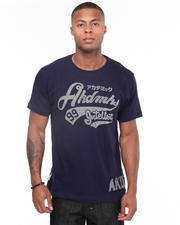 Short-Sleeve - The Fan Flocking Printed Tee Shirt