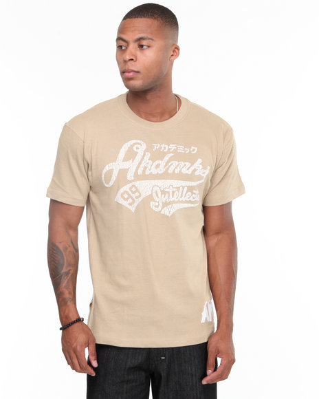- The Fan Flocking Printed Tee Shirt