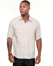Shirts - Carter Roll Up Long Sleeve Plaid Shirt