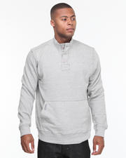 Pullover - Recruit Henley Fleece Pullover