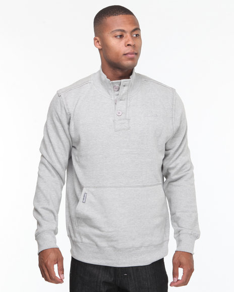 - Recruit Henley Fleece Pullover