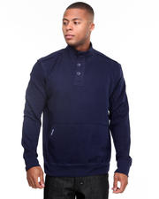 Men - Recruit Henley Fleece Pullover