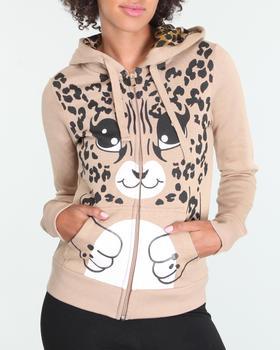 LOT29 - Zip up hoodie w/print