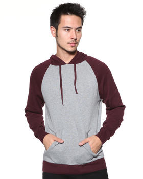 DJP OUTLET - 12GG Color Blocked Pullover Hooded Sweater