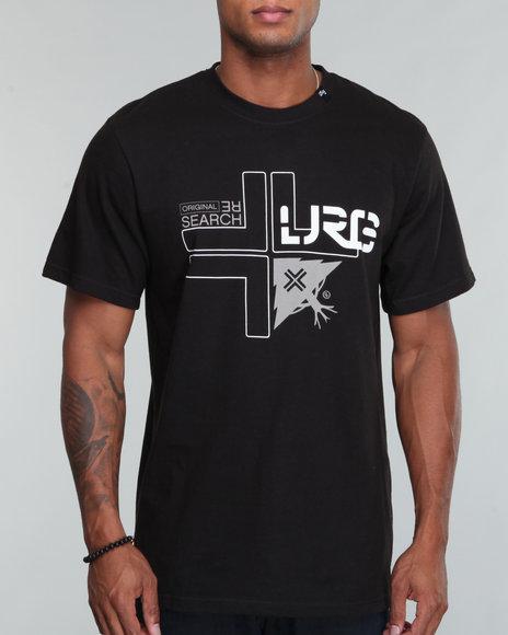 LRG Men Black Lrg Tree Cross S/S Tee