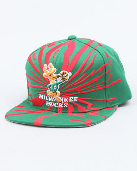 Mitchell & Ness - Milwaukee Bucks NBA  Earthquake snapback cap
