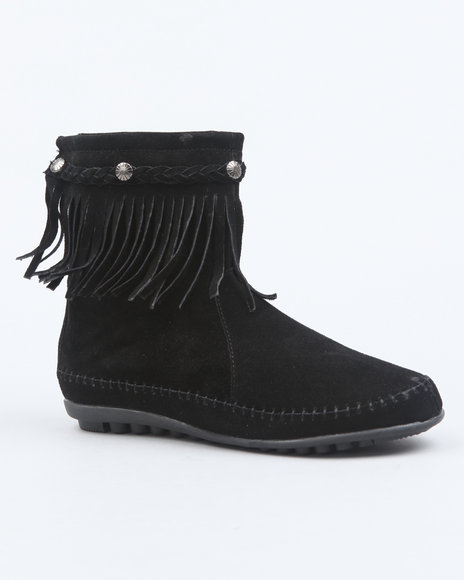 Fashion Lab Women Black Ahanu Boots