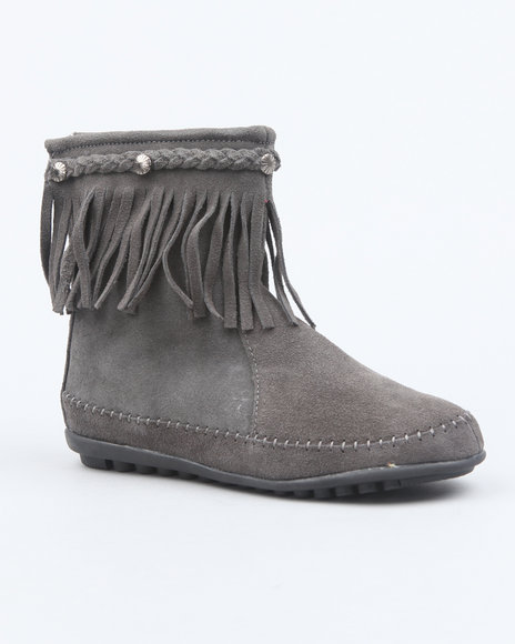 Fashion Lab Women Grey Ahanu Boots