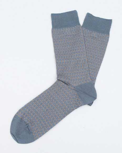 Lacoste All Over Print L Socks Blue