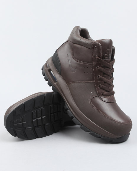 Nike Men Brown Air Max Goaterra Boots