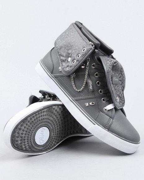 Pastry Women Grey Sugar Rush Spikes Sneaker