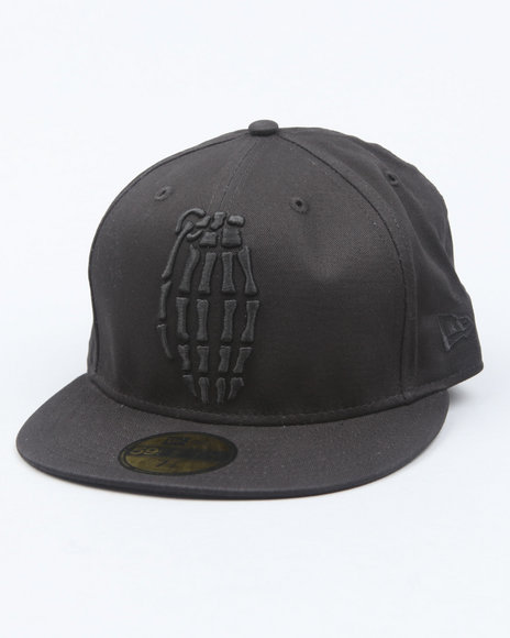 Grenade Black Fitted