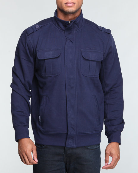 cadet utility fleece jacket