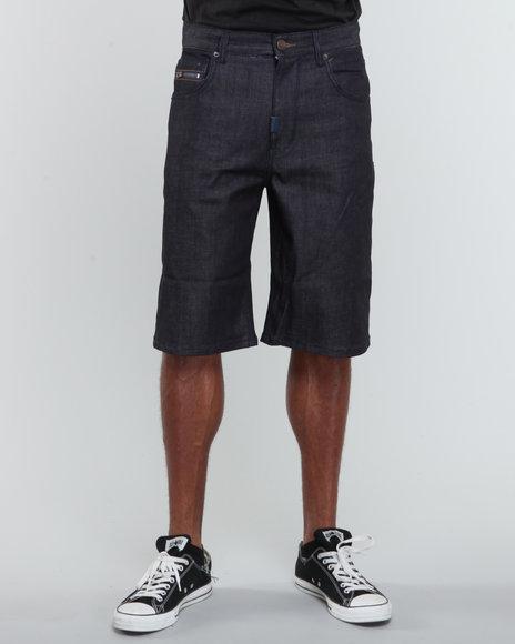 LRG Men Raw Wash Resolutionaries Classic Denim Shorts (B&T)