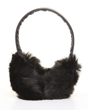 DJP Boutique - Faux Black Fox earmuff