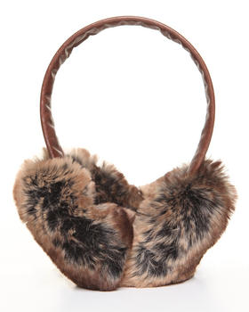DJP Boutique - Faux Brown Chinchilla earmuff
