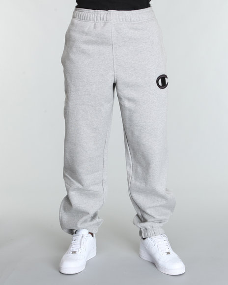 champion super pant sweatpants w/ midsize raised c logo