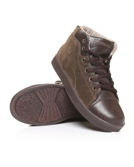 - Suede/Leather Sneaker