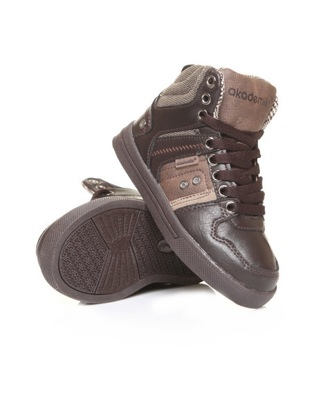 - Hi-Top Leather Sneaker (Boys 11-3)