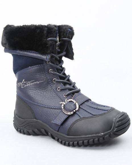 Apple Bottoms Women Blue Narele Boot