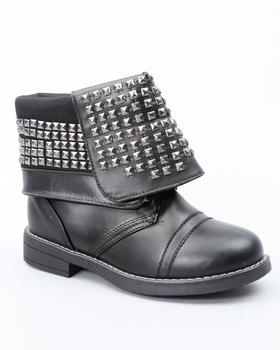 La Galleria - FOLD DOWN STUDDED BOOT (YOUTH)