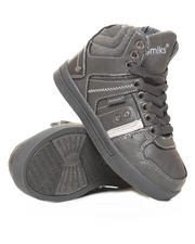 Shoes - Hi-Top Leather Sneaker (Boys 11-3)