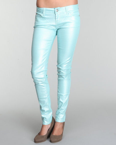 Fashion Lab Women Blue Venus Skinny Pastel Jean Pants