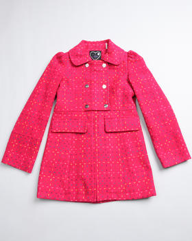 La Galleria - RED SWING COAT (7-16)