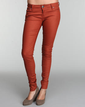 Basic Essentials - Light coated denim skinny jeans