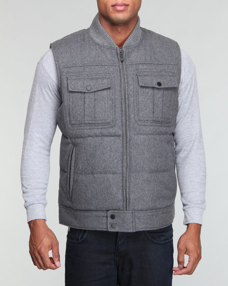 sj 4 pocket wool vest
