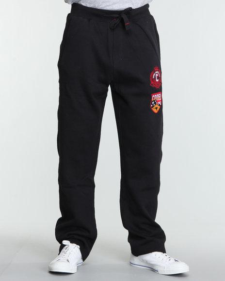 COOGI Men Black Buffalo Coogi Sweatpants