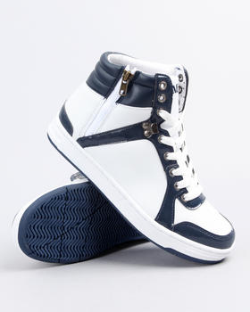 Buyers Picks - ELLA HIGHTOP ZIP SIDE SIDE SNEAKER