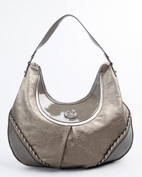 Apple Bottoms - Metallic Whip Stitch Hobo