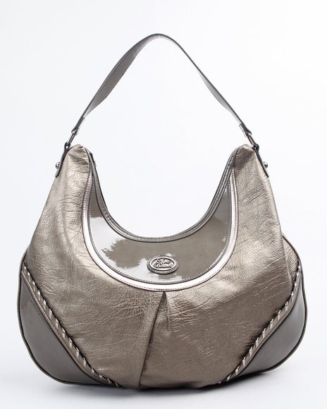 metallic whip stitch hobo