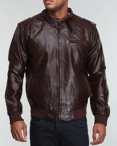 93b8ffb570d3 Description  Members Only Men Faux Real Racer Jacket - Outerwear E-Store   DrJays.com. Price   119.99. Click the Image to Buy Now