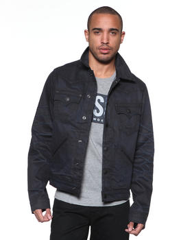 True Religion - Johnny Jacket Coated in Black