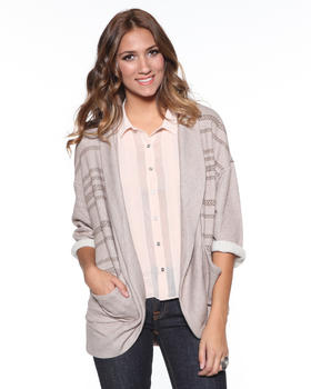 DJP OUTLET - Intertwine Open Cardigan