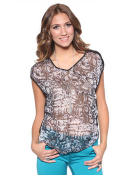 DJP OUTLET - Tryst Snake Blouse