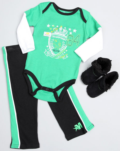 Mecca Boys 3Pc Boot Set