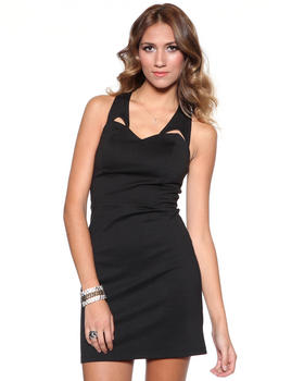DJP OUTLET - Maura Ponte Cut out Dress
