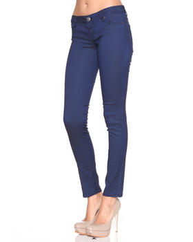 DJP Boutique - Reverse denim skinny jean pants