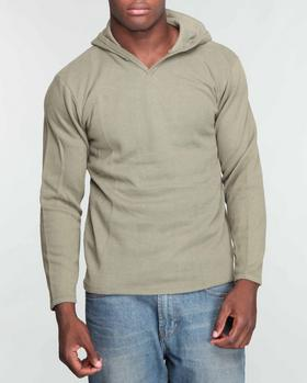 Buyers Picks - Ribber V - Neck Hooded Thermal