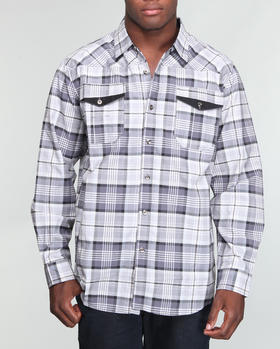 MO7 - Buffalo plaid shirt
