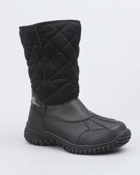 Apple Bottoms - Faux Suede Quilted Fleece Lined Boot