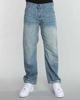 SIGMA - Sigma Premium Washed Straight Fit Jeans