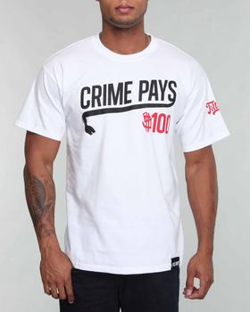Filthy Dripped - Crime Pays Tee